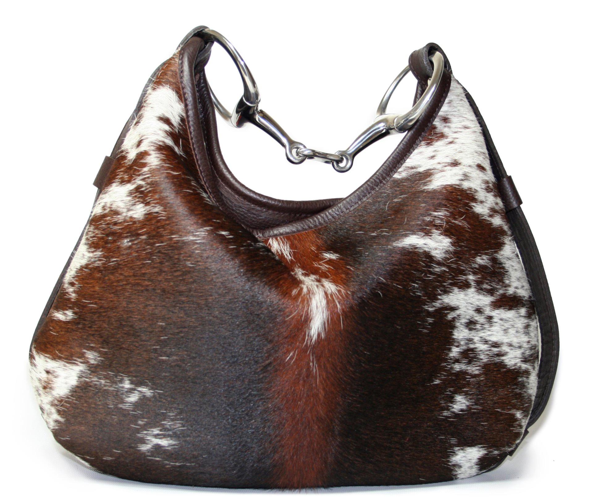 289 00 Cow Hair Snaffle Bag